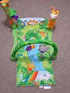 Fisher Price 1-2-3 musical rainforest gym Ferntree Gully Knox Area Preview