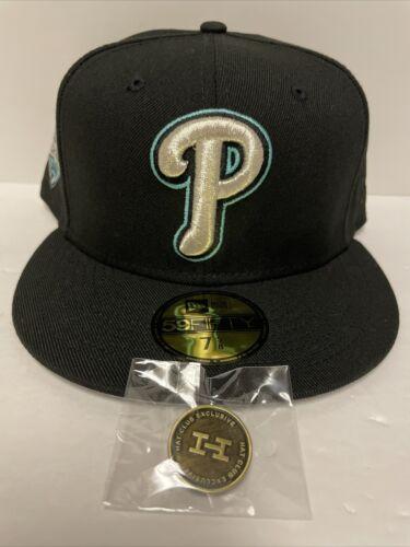 Hat Club Exclusive AUX Pack Meek Mill Philadelphia Phillies 7 5/8 New Era
