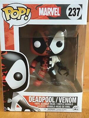 Funko Pop Marvel Series DEADPOOL / VENOM #237 Vinyl Figure New Japan