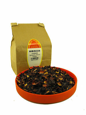 Marshalls Creek Spices LOOSE LEAF TEA Hibiscus (caffeine free)  4 oz - Hibiscus Spice Tea