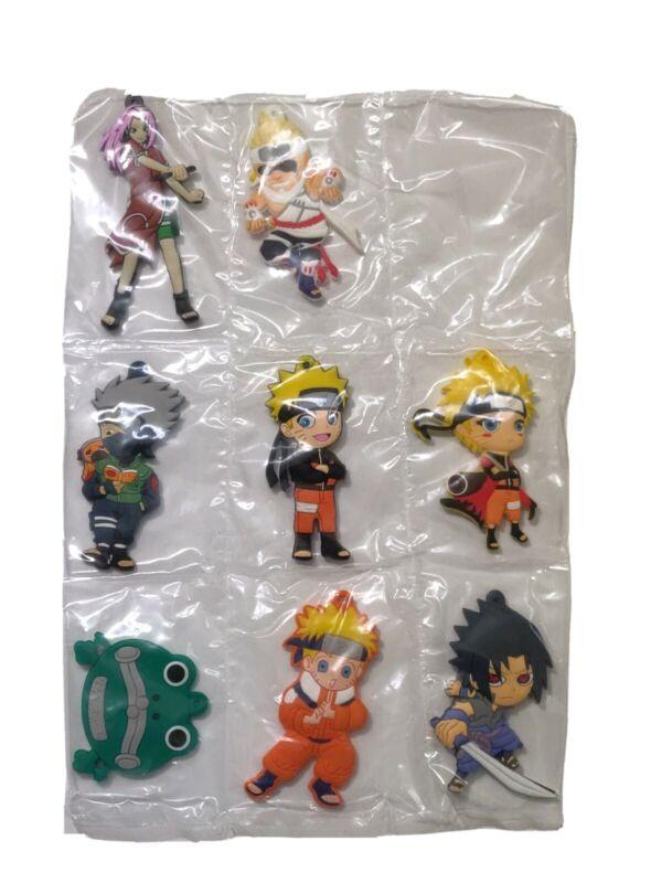 Lot of 8 Anime Naruto Uzumaki Keychain Bag Car Key  Fan Student Gift New H2
