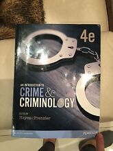 An introduction to crime and criminology Westmead Parramatta Area Preview