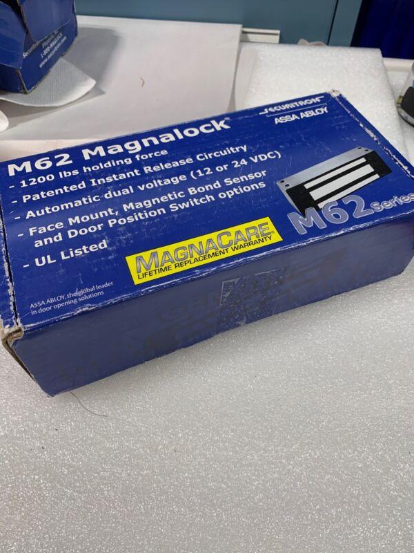 SECURITRON M62 Magnalock 1200lbs 12/24 VDC **NEW**