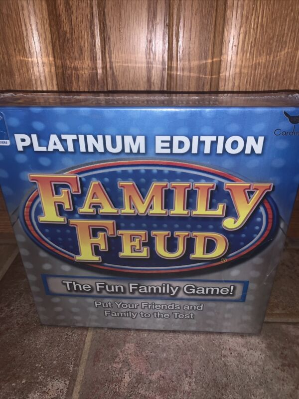 Family Feud Platinum Edition Game New In Box Fun Night Test 2+ Players