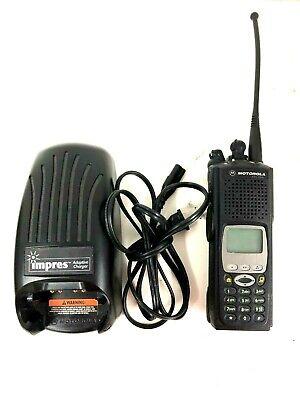 Motorola Xts5000 Model Iii P25 Police Fire Radio 700 800mhz H18uch9pw7an Impres