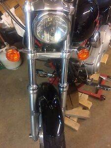 Dyna/sportster front end