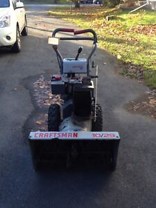 Craftsman 10/29 snowblower