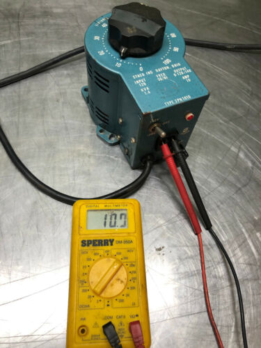 Staco Variable Autotransformer Type 3PN1010