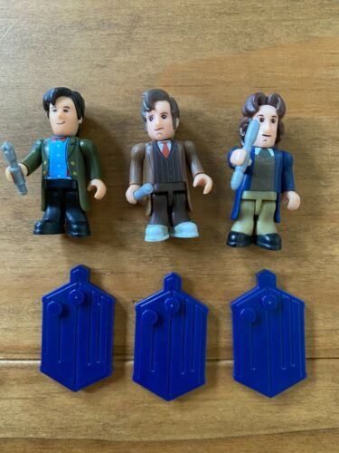 Doctor Who Character Building 8th 10th and 11th Drs blind bag minifigures