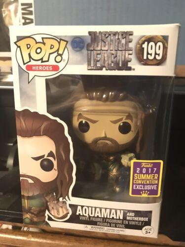Funko POP! Aquaman with Motherbox #199