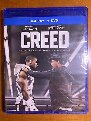 CREED Blu-Ray and DVD - New sealed case