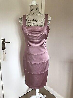 Dusky Pink/Mauve Dress By Jax Size 10