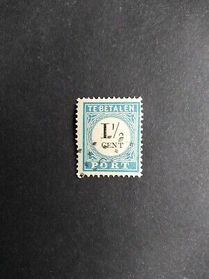 Netherlands - Postage due 1881 - 1,5 ct - P4D (type III) - very fine used stamp