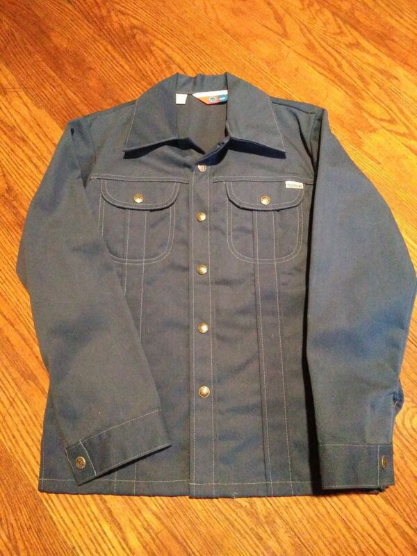 Vintage Kids Sears Toughskins Button Up Shirt Size 14