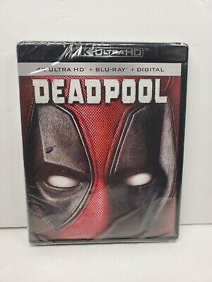 DEADPOOL (4K Ultra HD / Blu-ray / Digital) Ryan Reynolds NEW no slipcover!!