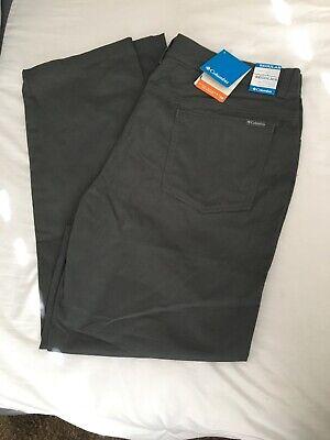 Men's Columbia Omni-Shade UPF 50 Pants 40x32 Regular NWT