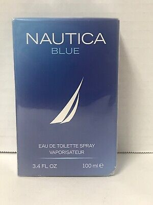 *NIB* Sealed, Nautica Blue Perfume Cologne 3.4 oz 100 ml EDT Spray For Men