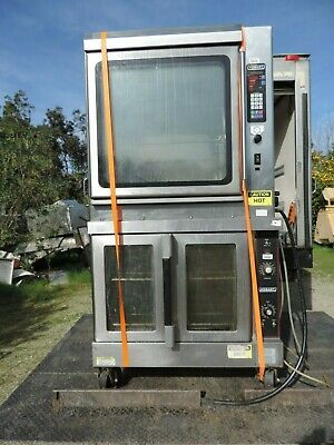 Hobart Rotisserie- Convection Oven Double Stack