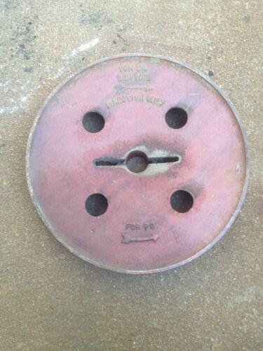 Vintage Baker Monitor Type ZA pump jack flat belt pulley