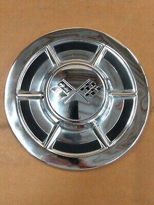 Vintage 1959 Chevy Corvette Dog Dish  Poverty Hubcap Chevrolet Wheel Cover
