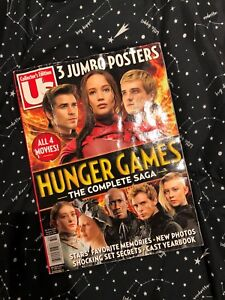 Hunger games collectors edition magazine