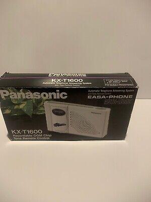Panasonic Easa-phone Kx-t1600 Recordable Ogm Tone Remote Chip Ai Brand New
