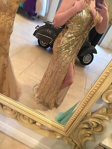 Beautiful sequinned prom/special occasion dress