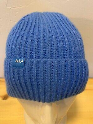 3809ba8af653e1 BULA STANDARD SKI SNOWBOARD WINTER KNIT BEANIE HAT CAP BLUE