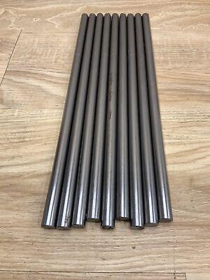 9 Pc Lot Of 716 Steel Round Stock Tool Die Machine Shop Bar Rod Steam Punk