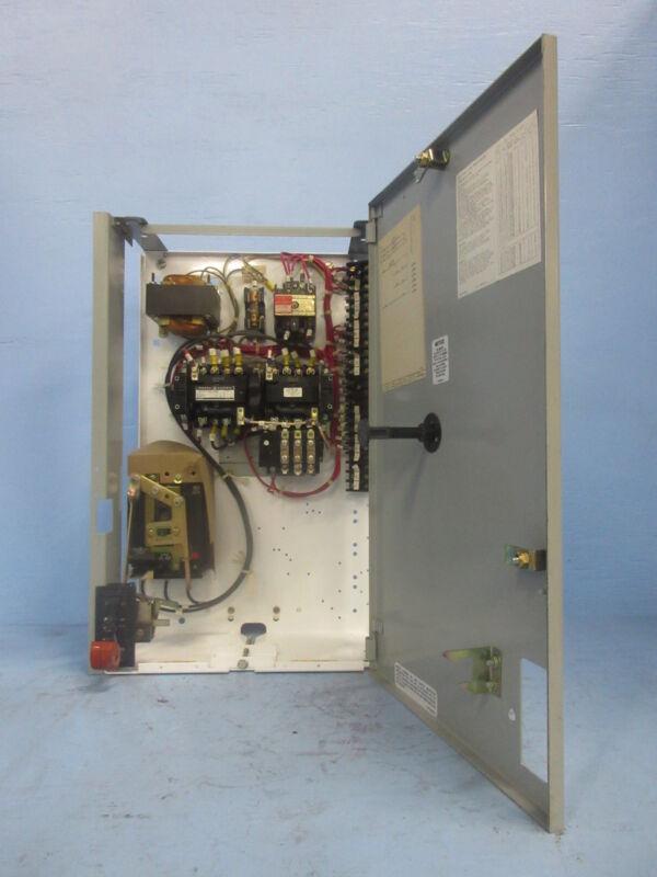 "General Electric GE 8000 Size 1 Reversing Starter 3 Amp Breaker 24"" MCC Bucket"