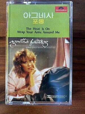 Agnetha Faltskog - Wrap your Arms Around Me Korea Cassette 1983 Rare