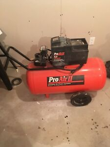 30 gallon portable air compressor