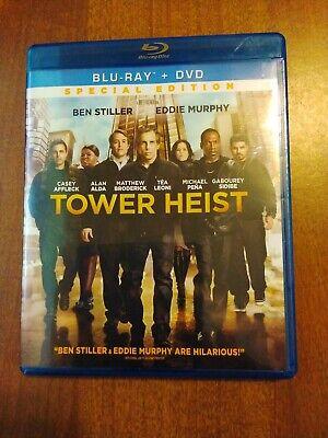Tower Heist Blu-ray + DVD No Digital No Slipcover