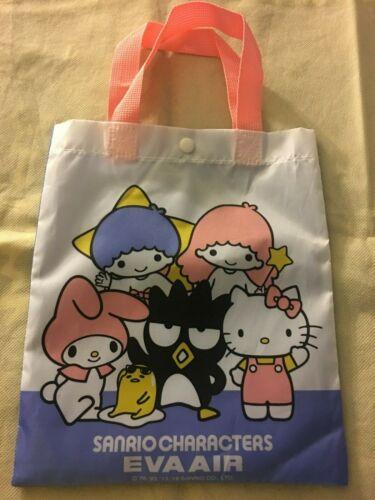 SANRIO Eva Air HELLO KITTY MY MELODY TWIN STARS Kids tote bag Airline