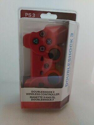 DUALSHOCK PLAYSTATION 3 CONTROLLER JOYPAD For PS3-White/Red/Black