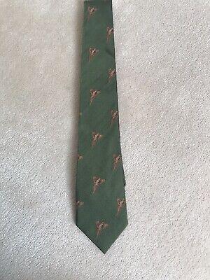 James Purdey & Sons Green Silk Pheasant Tie
