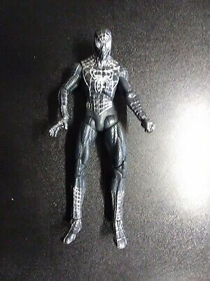 "2008 Marvel Legends 6"" Spider-Man 3 Movie Figure Black Symbiote Suit"