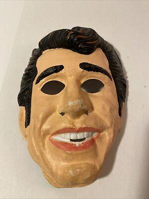 "Vintage 1976 Ben Cooper ""The Fonz"" Halloween Mask"