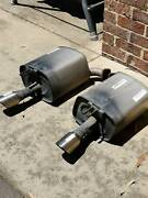 Set of rear mufflers for VF SV6 Holden Commodore Wallan Mitchell Area Preview