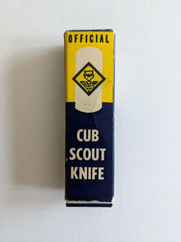 Vintage Official Cub Scout Knife Number 1885 With Original Box And Papers