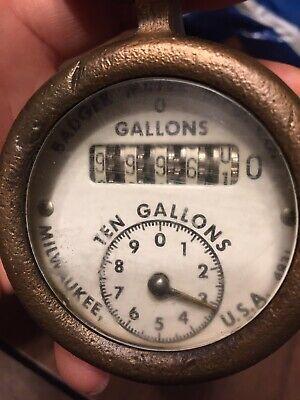 Vintage Badger Meter Mfg Co Milwaukee Usa Water Meter Trinket