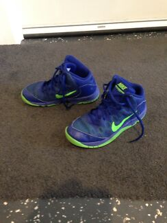 Nike Basketball shoes.