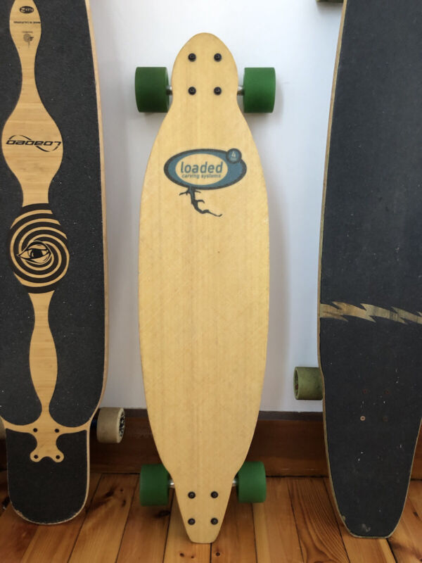 Loaded Pin Tail Longboard (all original setup)