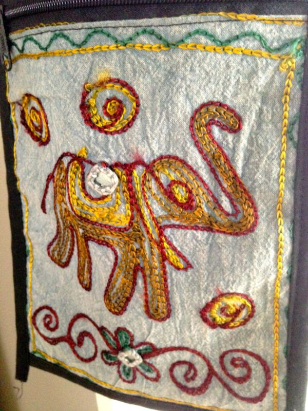 Hand Crafted Embroidered Shoulder Bag from India