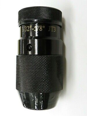 58 Keyless Drill Chuck Jt3 Mount 132 - 58 Capacity  Xs305