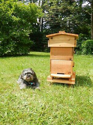 Warre Honey Bee Hive Cedar - Aoka Farm Usa Sourced Untreated Wood 3 Box