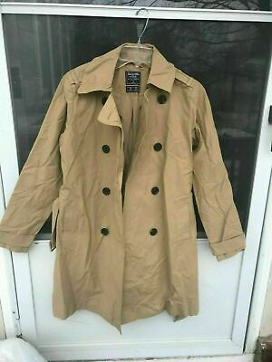 NWT Abercrombie And Fitch Women's Trench Coat Size XS