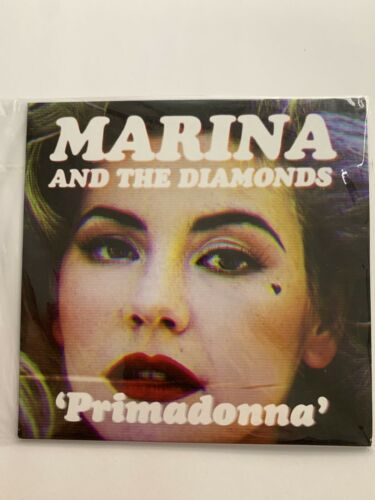 Marina And The Diamonds Promo Cd Single Primadonna Card Sleeve Electra Heart - $15.50