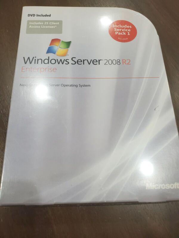 Factory Sealed - P72-3827  Microsoft Windows Server 2008 R2 Enterprise 25 CAL