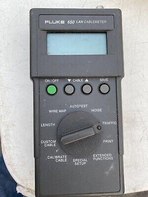 Fluke 650 Lan Cable Meter
